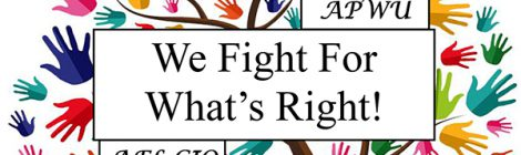 We Fight for What's Right.