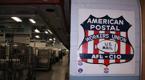 APWU and USPS Resolve Line H Disptue